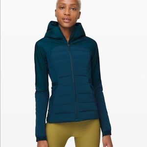 Lululemon Down For It All Jacket - Night Diver